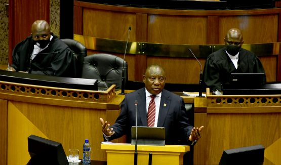 Bold speech. President Cyril Ramaphosa is, among other things, addressing government's inability to turn plans into action. Image: GCIS