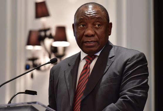 President Cyril Ramaphosa outlines his plans as part of the economic stimulus package to save South Africa's economy. Picture: Kopano Tlape, GCIS