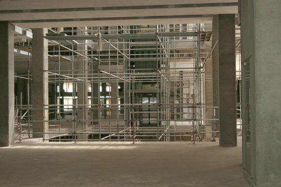 A view of the interior of the half-built Villa Retail Park in Pretoria. Image: Moneyweb