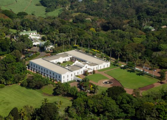 Tongaat Hulett's head office at Amanzimnyama Hill in Tongaat, on KwaZulu-Natal's North Coast. The struggling sugar and property giant welcomes new board members from October 1. Image: Supplied