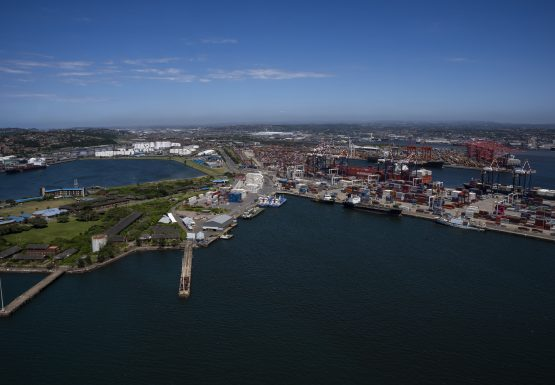 The Port of Durban, SA's busiest container port, is in line for major investment. Image: Supplied