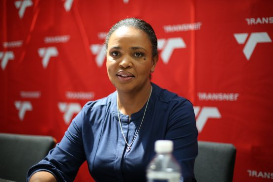 Portia Derby, who took over as Group CEO of Transnet in February 2020. Image: Supplied