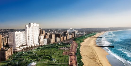 The Southern Sun Elangeni & Maharani Hotel, the group's largest property in SA with 734 rooms. Image: Supplied