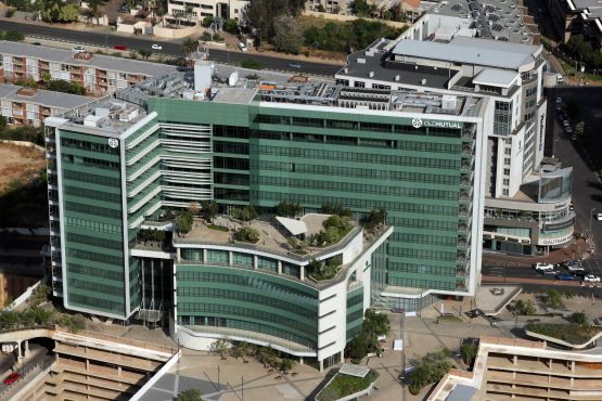 The showdown is set to take place at Old Mutual's swanky headquarters in Sandton on Wednesday. Image: Moneyweb