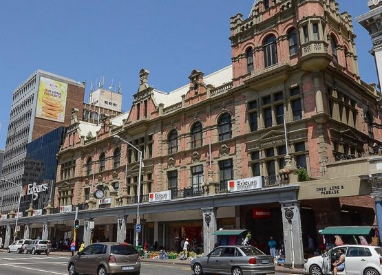 Edcon's landmark Edgars store in the Durban CBD, which was closed down as part of its restructuring. Image: Supplied by Fortress Reit