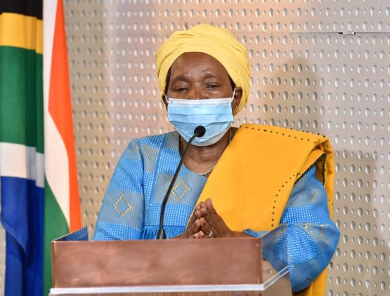 Minister of Cooperative Governance and Traditional Affairs Nkosazana Dlamini-Zuma is the only respondent in the case. Image: GCIS