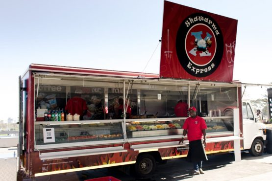 The Shawarma Express owner had to think out of the box to generate an income during the lockdown, to pay his employees. Image: Supplied