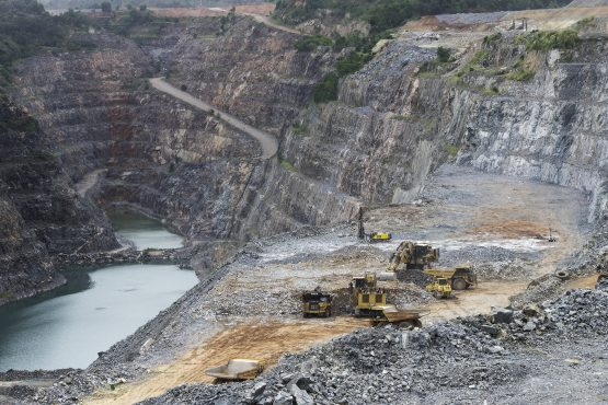 Gold Fields's Damang mine in Ghana. Picture: Bloomberg