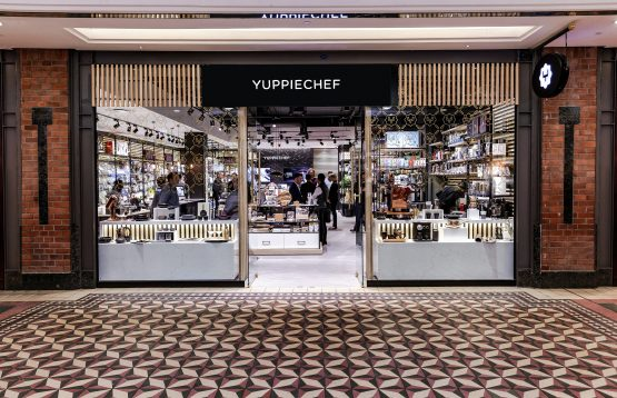 Yuppiechef's store at the V&A Waterfront in Cape Town, which opened its doors last October. Picture: Supplied