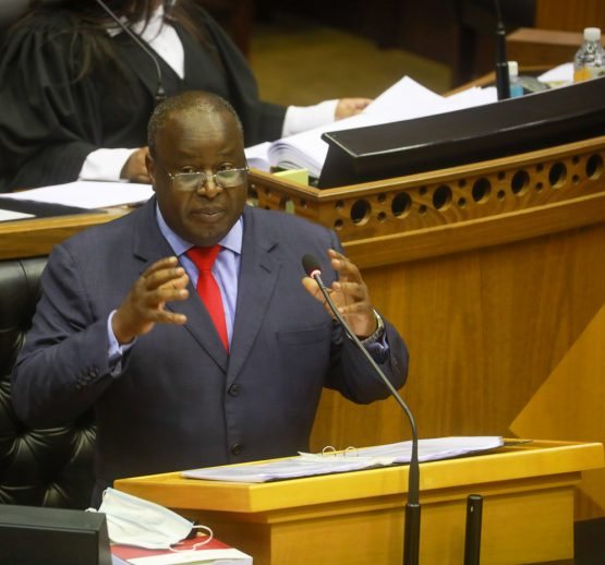 Finance Minister Tito Mboweni delivers Budget Speech 2021.Image: GCIS