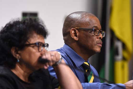 ANC members including Secretary General Ace Magashule and his deputy, Jessie Duarte have in recent months called for the Reserve Bank to be nationalised. Picture: Neil McCartney