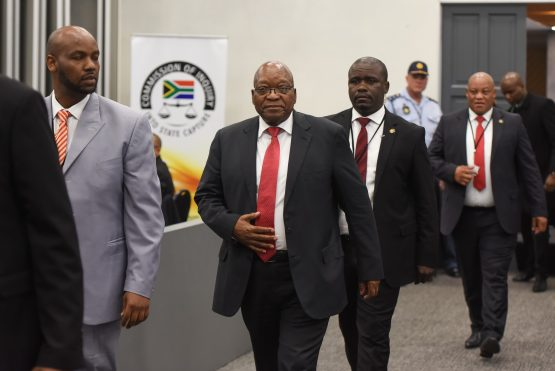 Former President Jacob Zuma to agree to continue cooperating with the inquiry via his legal team, Zondo says. Picture: Refilwe Modise, Citizen