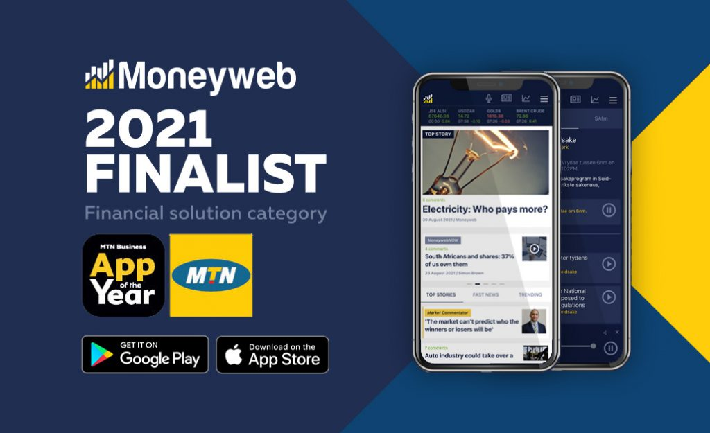 Moneyweb's app competes with the best