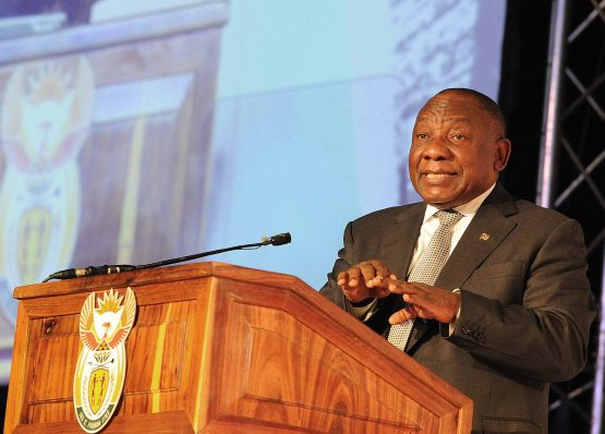 President Cyril Ramaphosa vows to create 275 000 jobs within a year to revive economy. Picture: Siyabulela Duda