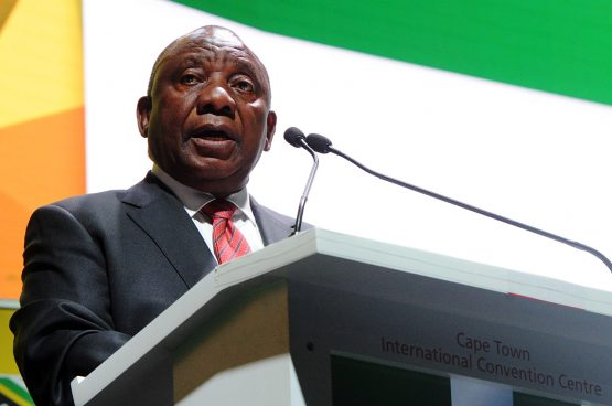 President Cyril Ramaphosa. Picture: Bloomberg