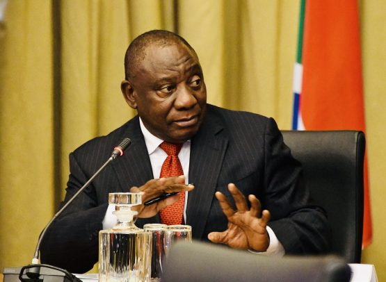 President Cyril Ramaphosa. In early trade the rand was at 14.90 versus the dollar, 0.2% weaker than its previous close. Picture: Siyabulela Duda