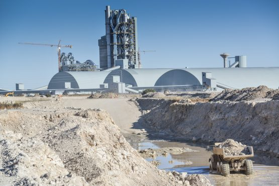 One of SA's newer cement plants owned by Sephaku Cement. The industry has called for import tariffs to be imposed on cheap cement being brought into the country from Vietnam and China. Picture: Supplied