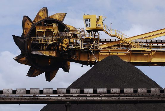 A load of coal waits to be loaded on to a ship at the Port of Newcastle, Australia. Picture: Andy Shaw/Bloomberg News
