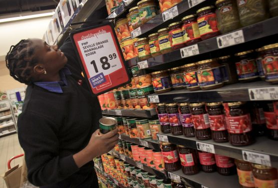 South Africa's inflation rate falls to seven-year low in March