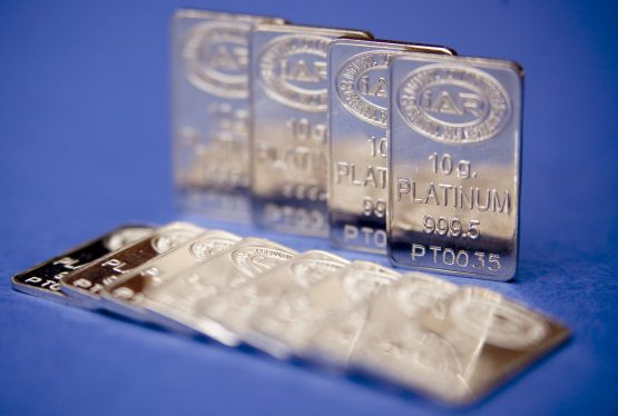 Platinum had a decent turnaround after reaching a decade low in August, a slump that hurt mining earnings but led to speculation that automakers may start substituting the metal in for palladium. Picture: Kerem Uzel, Bloomberg