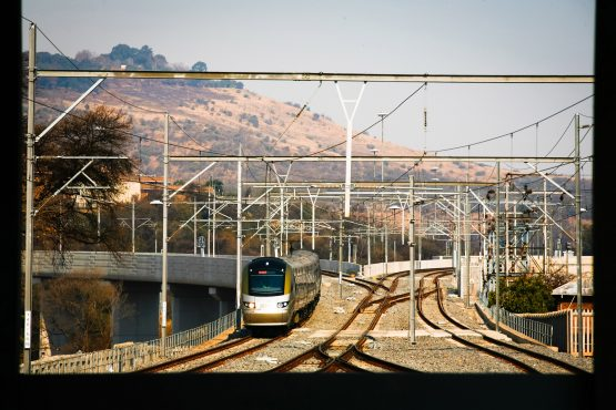 The initial 15-year concession involved developing a rail system from 'open veld'. Image: Nadine Hutton/Bloomberg
