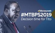 WATCH LIVE: Finance Minister Tito Mboweni delivers the MTBPS
