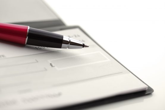 The cheque has made its mark on the world, but the world is moving on. Image: Shutterstock