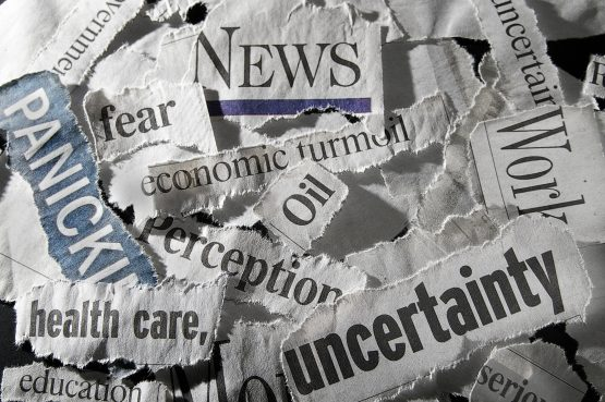The onslaught of political, market and economic news needs to be considered in financial wellness. Picture: Shutterstock