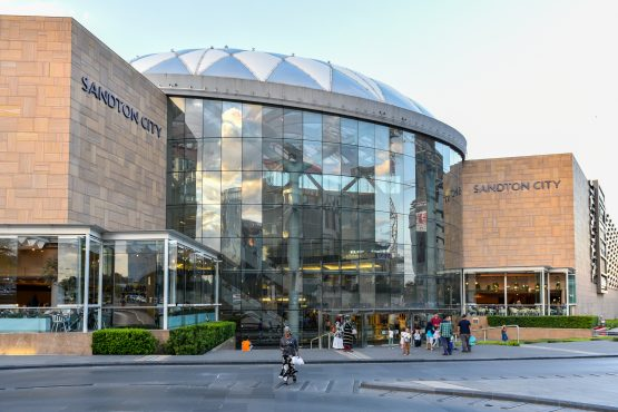 Sandton City, with just over 146 000m2 of retail space, is L2D's flagship and largest shopping centre in South Africa. Image: Shutterstock