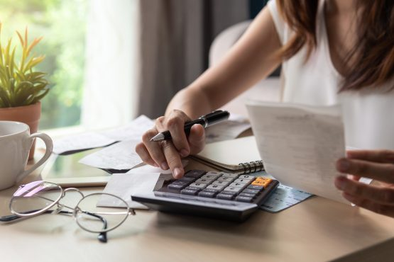 Having a carefully considered budget will allow you to calculate your debt-to-income ratio to ensure that you don't take on too much debt. Image: Shutterstock