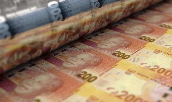 The rand is now back to levels seen in late March, before the Covid-19 lockdown. Image: Shutterstock