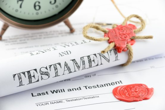 Having a Will professionally drafted is relatively inexpensive and is highly advisable. Image: Shutterstock