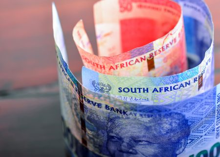 Rand's record-busting slump may not be over, options suggest