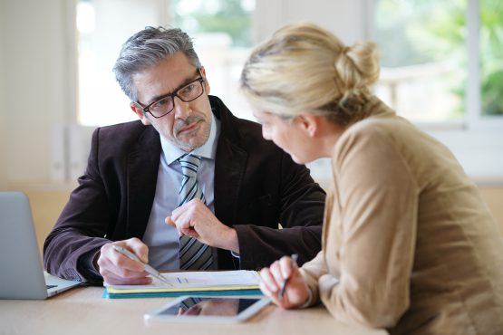 Seek counsel from an independent advisor who can guide you through the decisions you need to make to ensure the most favourable financial outcomes for you are achieved. Image: Shutterstock