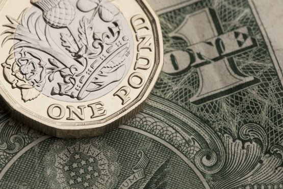 Pound eases after best 1-day percentage gain since April 2017. Picture: Shutterstock