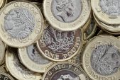 Sterling near 3-week high; short positions up for 12th week running