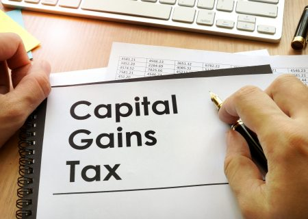 Can I use the annual CGT exemption to lower tax at the end of my investment term?