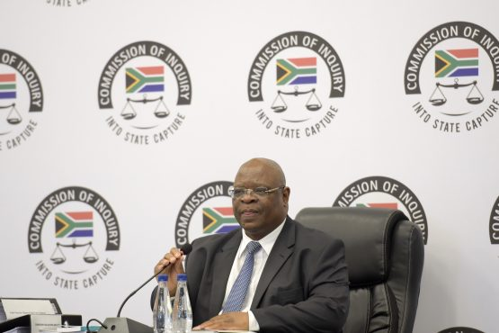 Deputy Chief Justice and head of the Commission of Inquiry into State Capture Raymond Zondo. Picture: Refilwe Modise