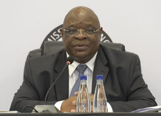 Deputy chief justice Raymond Zondo, who is chairing the state capture commission of inquiry. Picture: Citizen.