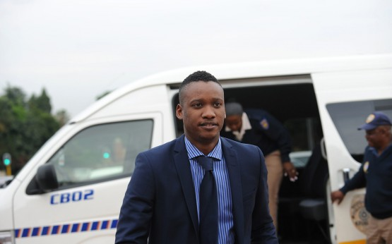 The charges relate to a fatal 2014 car crash in which Duduzane's sports car smashed into a minibus taxi. Picture: Dumisani Sibeko