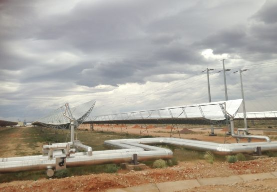The solar field at the Bokpoort CSP near Groblershoop in the Northern Cape. Picture: Supplied
