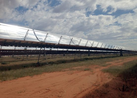 The plant has eight solar fields with 241 920 mirrors with a combined reflective surface of 658 000 square meters.