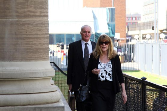 With the case against Porritt and Bennett, pictured in September 2016, likely to be decided on the basis of documentary evidence, Wainer's testimony could mark a crucial turning point in their trial. Picture: Moneyweb