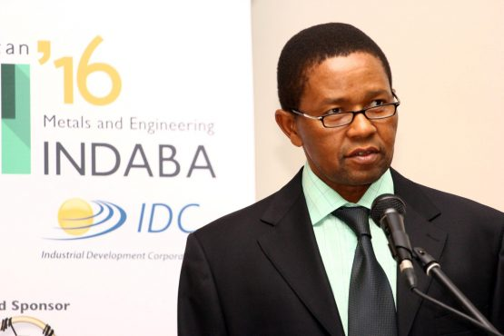 IDC CEO Geoffrey Qhena. The IDC says its decision to invest in Oakbay Resources was based on false information and it now wants to give back its 28.5 million Oakbay shares. Picture: Moneyweb