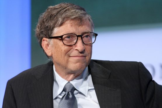 Bill Gates co-founded Microsoft in 1975. Image: Bloomberg