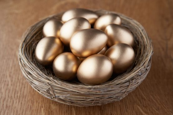 Diversification is about not having all your eggs in one basket. It's about investing in a range of different asset classes, across borders, strategies and products. Picture: Shutterstock