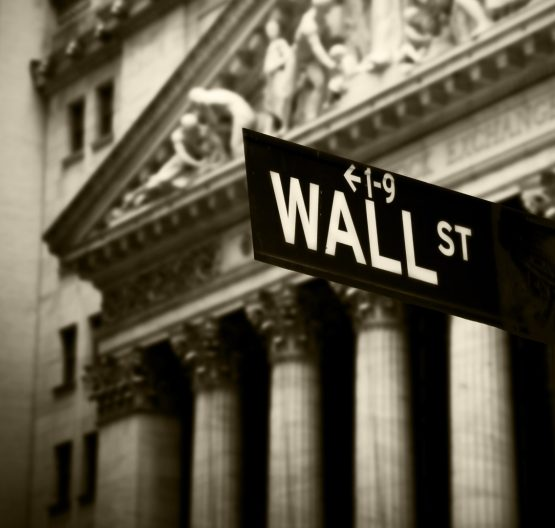 Wall Street's main indexes had pared gains by late afternoon trading after initially spiking higher after Trump's comments. Image: Shutterstock
