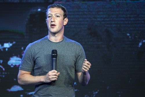 Mark Zuckerberg, chief executive officer of Facebook. Image: Bloomberg