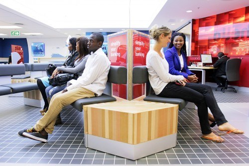 Capitec is known for its open and casual branch infrastructure.