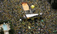 Over 1 million Brazilians protest Rousseff, economy, corruption